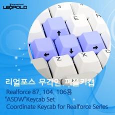 Realforce/HHKB용 무각인퍼플키캡