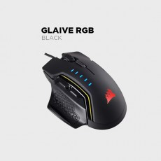 CORSAIR GLAIVE RGB 게이밍마우스(블랙)