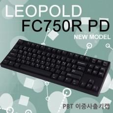 레오폴드 FC750R PD 블랙 한글 레드(적축)