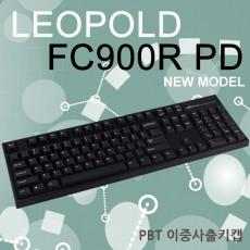 레오폴드 FC900R PD 블랙 영문 클릭(청축)