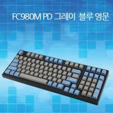레오폴드 FC980M PD 그레이/블루 넌클릭(갈축) 영문