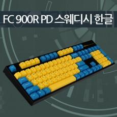 레오폴드 FC900R PD 스웨디시 블랙 한글 저소음적축