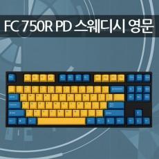 레오폴드 FC750R PD 스웨디시 블랙 영문 넌클릭(갈축)