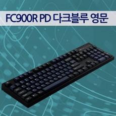 레오폴드 FC900R PD 다크블루 영문 리니어흑축