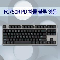FC750R PD 차콜 블루 영문 클리어(백축)