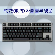 FC750R PD 차콜 블루 영문 레드(적축)