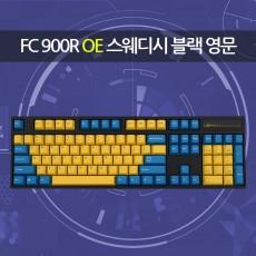 FC900R OE 스웨디시 블랙 영문 레드(적축)